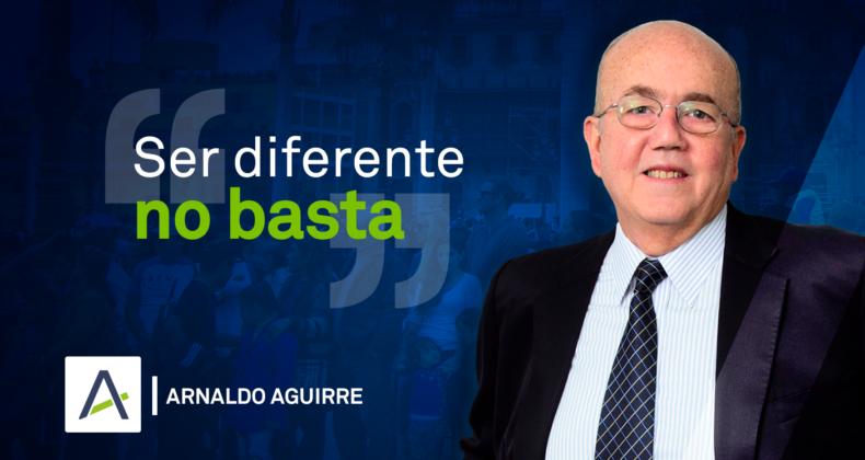 Arnaldo ser diferente no basta 14-05-2019