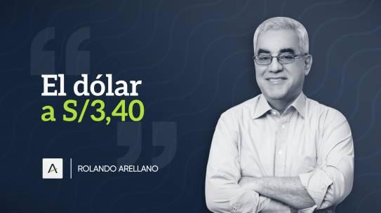 El dólar a S/3,40