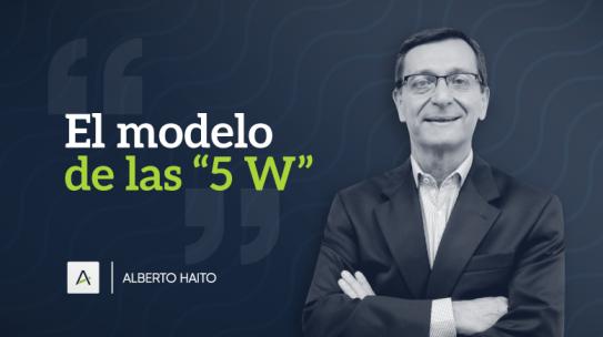 El modelo de las 5 «W»